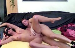 The 19-year-old Dwarf Fucks Like Crazy With Her Gifted Lover