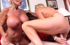 Two 55-year-old Pussy Fucks With A 20-year-old