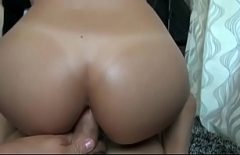 Penetrated Hard In The Ass By Her Perverted Boyfriend With Big Cock