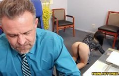 Accountant Fucks Her Own Boss Breaks Her Pussy With His Big Cock