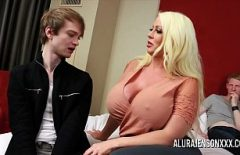 Curvy Girl With Tails Fucks A Skinny Cock In The Bathroom