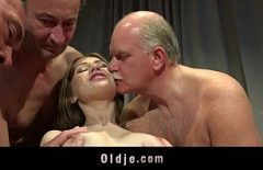 Porn With Three Elderly Who Is Loud With Youngsters 20