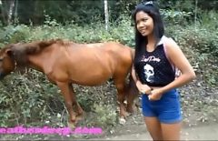 Porn With A Crazy Woman Fucks With A Horse Xxx Animals