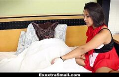 Little Red Riding Hood Xxx Goes To The Bad Wolf To Give Her A Blowjob