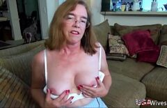 The Mature Woman Has Orgasms And Fucks Hard With A Man With Feelings